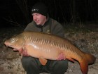 Pieter Hoekstras 34lb 1oz  using Cell pop up from Bench