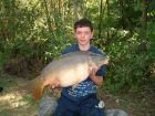 Jack Adamss 28lb  using Bill's Lake Specials from Railway bank