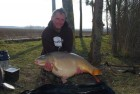 Pete Knights 43lb  using fishmeal krill from The Fairway
