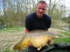 Ian Shaws 36lb 2oz  using Halibut pellet tipped with yellow corn from The Fairway