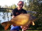 Spraggys 25lb 10oz  using Fruity Crab from The Point