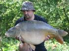 Steves 32lb 2oz  using Banana pop-up from Number 1